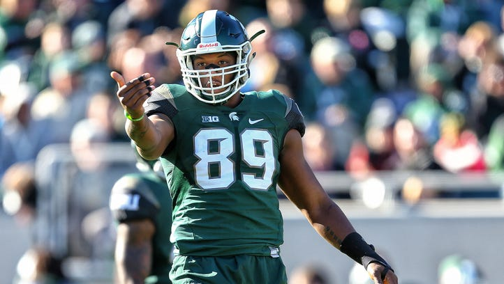 Shilique Calhoun's journey from Middletown to Michigan State, to NFL ,