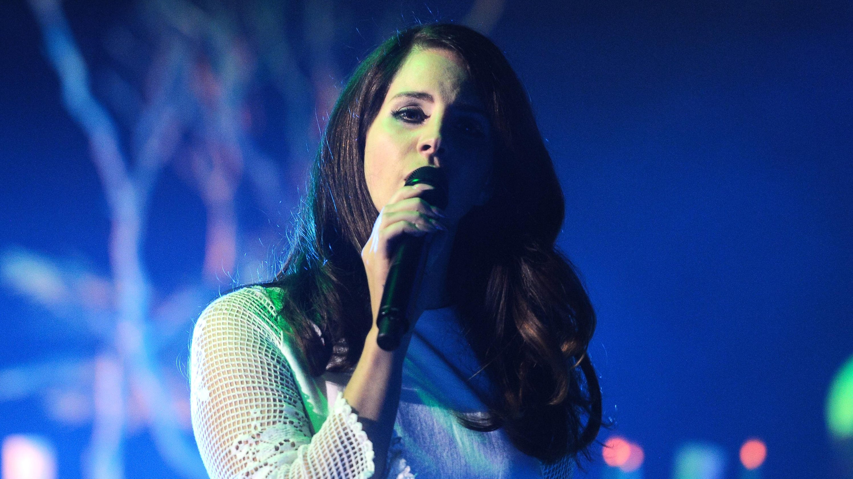 Lana del rey brings her lust for life to little caesars kristyandbryce Images