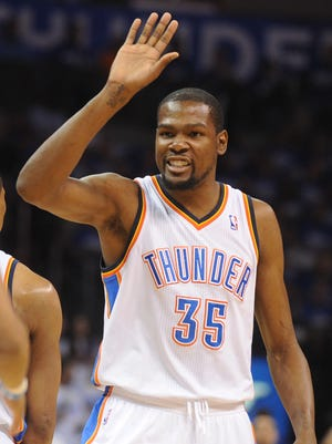 Kevin Durant hasn't closed the door on leaving OKC when he becomes a free agent.