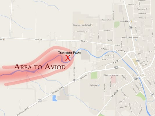Silverton map