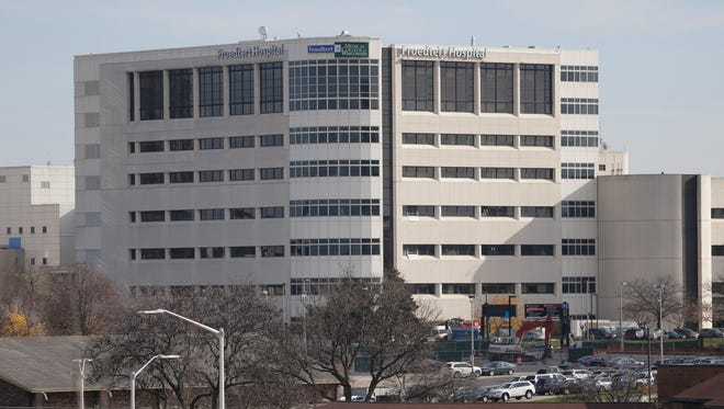 Froedtert Hospital in Wauwatosa.