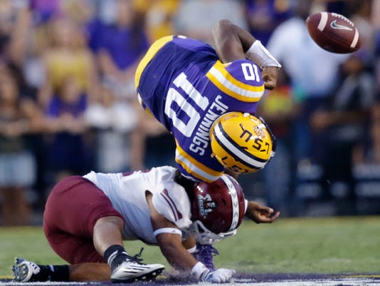 New Mexico State LSU Football