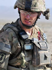 Aaron Merritt was deployed to the Middle East three