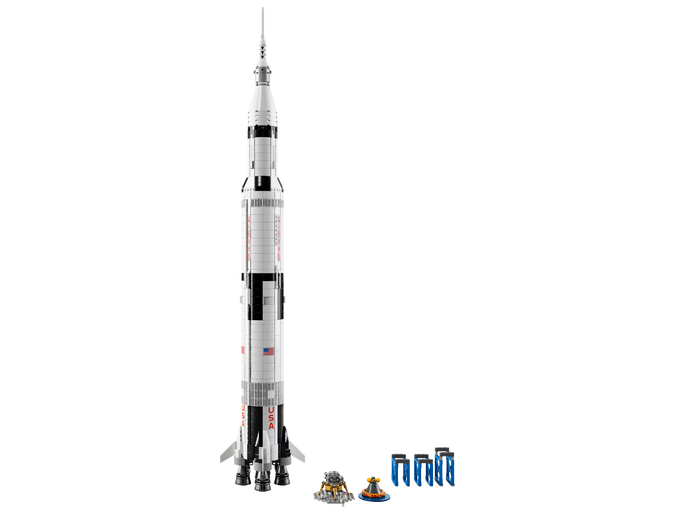 photos  build your very own saturn v with new lego set