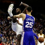 Iverson, tough losses, help Simmons, Sixers prepare for playoffs