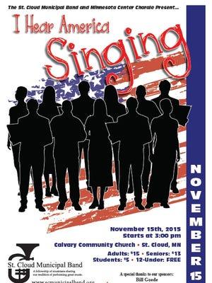 """I Hear America Singing"" combines show tune and patriotic music."