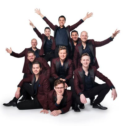 The Ten Tenors perform March 23 at the Admiral Theatre.