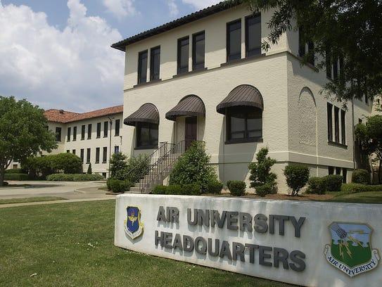 The Air University Headquarters at Maxwell-Gunter Air
