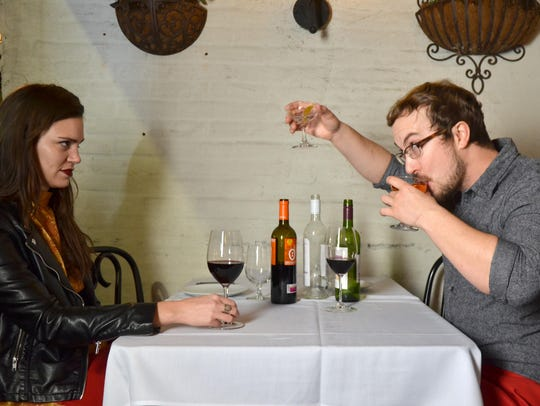 Being nervous on a date can cause you to drink too