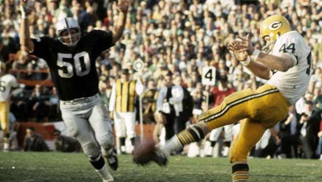 Donny Anderson revolutionized punting tactics in the NFL while with Green Bay, demonstrating that hang time is more important than distance.