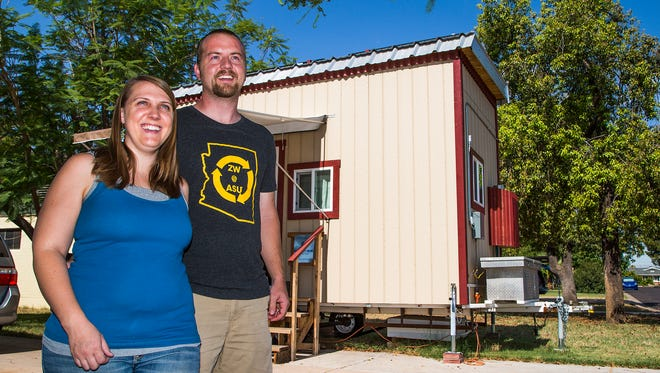 Jared and Traci Stoltzfus started using Airbnb to rent out the tiny house parked in their driveway, but they weren't sure if they had to pay taxes on the money they made.