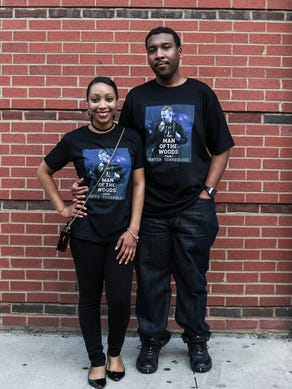 May 30, 2018 - Mea Byrd and Jonathan Moore, from Memphis,