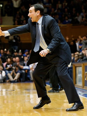 Duke head coach Mike Krzyzewski split two close games with Syracuse last season, losing 91-89 in overtime on the road and winning 66-60 at home.