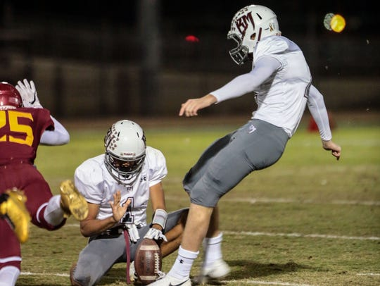 Daniel Whelan gets Rancho Mirage on the board with