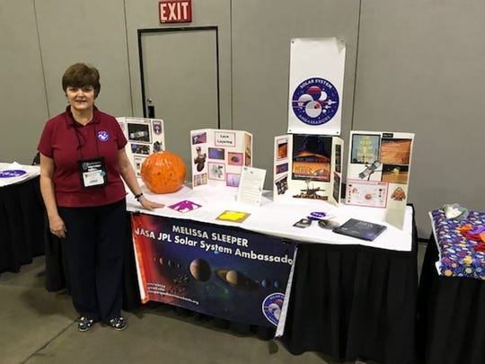 Melissa Sleeper serving as a NASA JPL Solar System