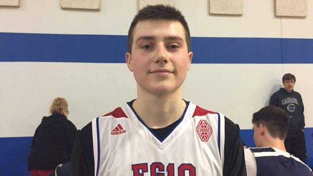 Crown Point's Sasha Stefanovic is a core member of the Indiana Junior All-Stars team.