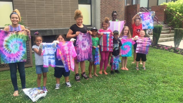 Members of Cumberland County Library's Summer Reading Program had fun with a tie-dye project on July 9. For information on upcoming programs, call (856) 453-2210 or visit www.cclnj.org.