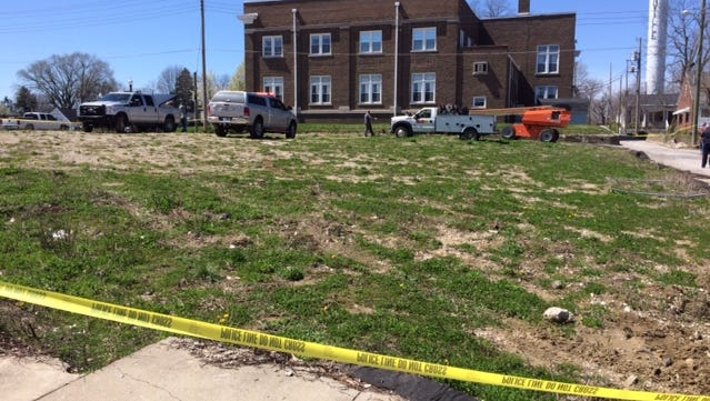 A man died on Saturday, April 8, 2017, when a crane he was working in struck power lines next to the Danville Christian Church, near Jefferson and Main streets, police said.