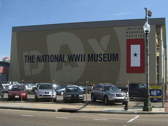 Louisiana: National World War II Museum in New Orleans.