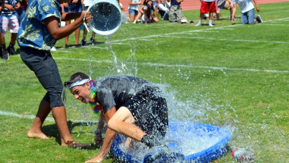 Deming High School students had fun in the Obstacle