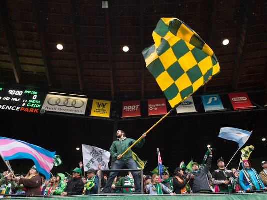MLS: Colorado Rapids at Portland Timbers