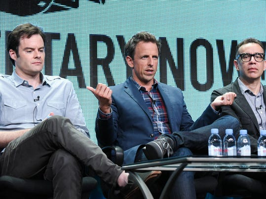 Bill Hader, Seth Meyers, Fred Armisen