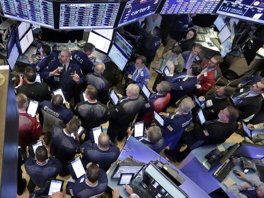 APTOPIX Financial Markets Wall Street Allergan Pfizer