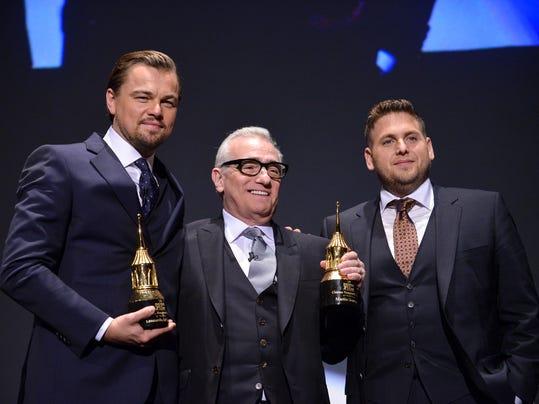 Leonardo DiCaprio,Martin Scorsese,Jonah Hill