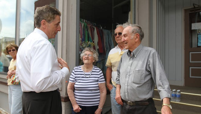 A storm dumped almost three inches of rain in Penn Yan Tuesday night.  Lt. Gov. Robert Duffy visited the area Thursday.