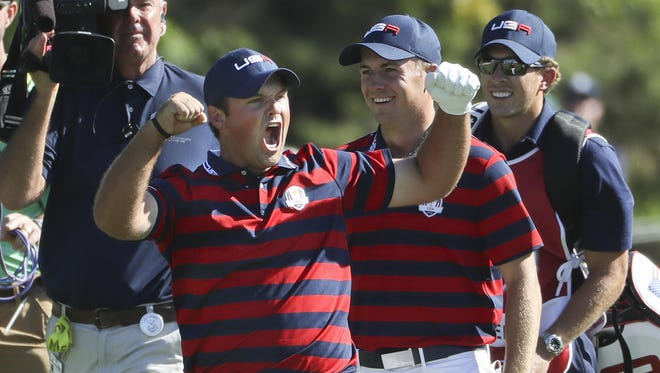 "Patrick Reed earned the nickname ""Captain America"" for his play and spirit in the Ryder Cup."