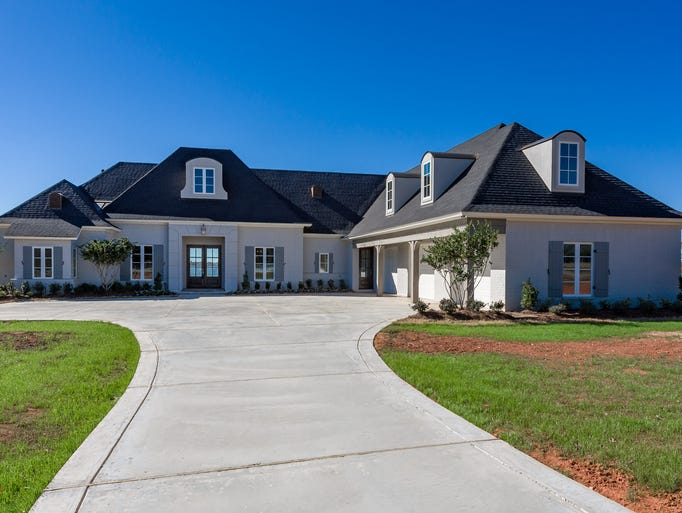 This $1.4 million home is situated at The Point at