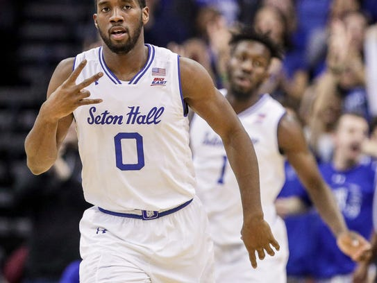 Will the third NCAA Tournament appearance be the charm for Khadeen Carrington and Seton Hall?