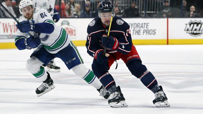 The Blue Jackets acquired center Devin Shore from the Ducks on Feb. 24, giving him just 16 days with his new team before the season was paused because of the coronavirus pandemic.