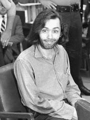 FILE - In this June 25, 1970 file photo, Charles Manson