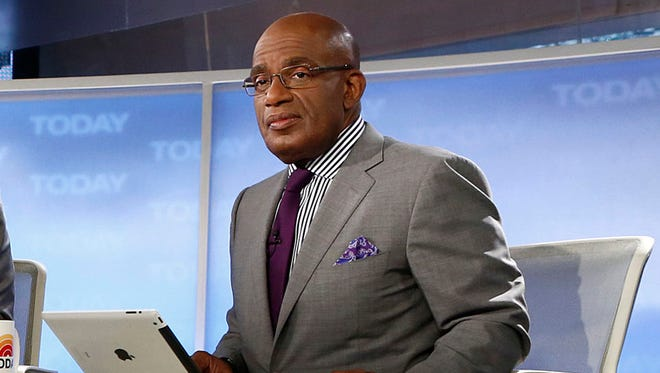 Al Roker in April 2013 on set of 'Today' show.