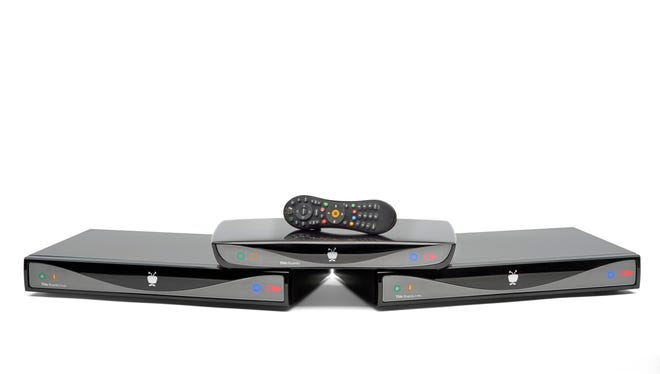 The new TiVo Roamio digital video recorders record up to six programs simultaneously and integrate Net video services.