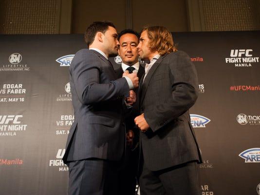 UFC Manila Press Conference