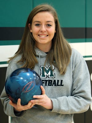 Mason student Emily Harrison was a standout bowler for the Comets.