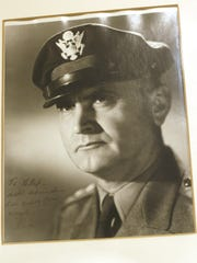A U.S. military portrait of Colonel Cliff Henderson,