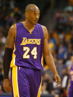 Lakers guard Kobe Bryant, shown Dec. 30, had his minutes reduced in the past month.