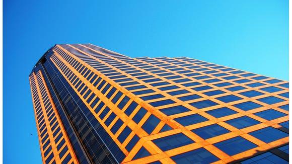 Wells Fargo's office tower in Charlotte, North Carolina.