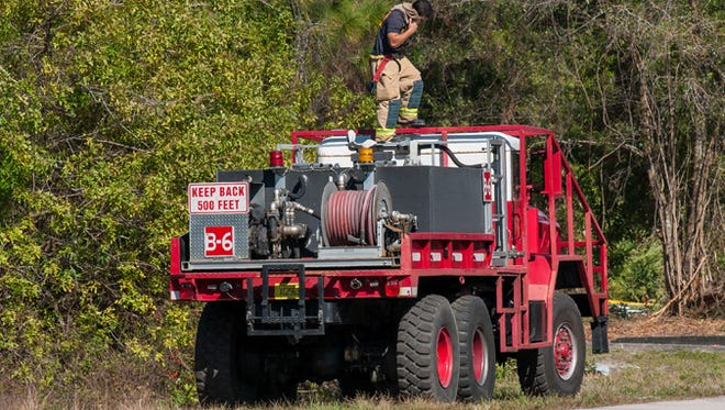 Palm Bay Fire-Rescue brush truck