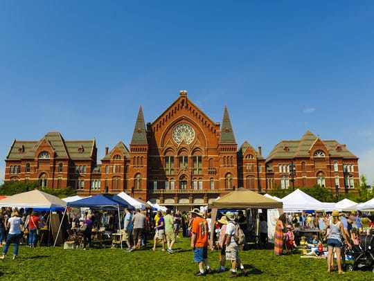 The City Flea happens Saturday at Washington Park in