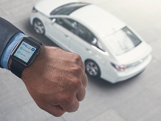 Hyundai launches app on Apple Watch