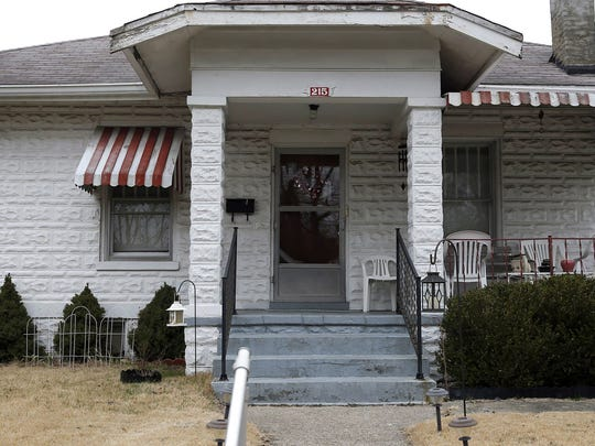 The house in Ludlow, Ky., where an 18-year-old with