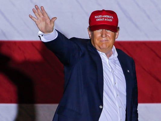 EPA FILE USA ELECTIONSTRUMP POL ELECTIONS USA FL