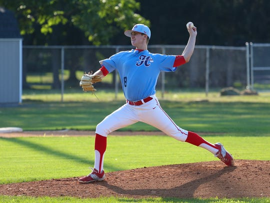 Hagerstown's Brad Enfield started Wednesday against