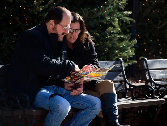 David and Melanie Minns, of Pass Christian, MS study