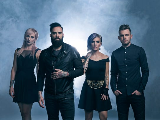 Skillet will be performing at Halfway Jam for the second