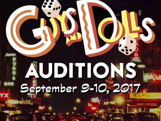Guys and Dolls Auditions